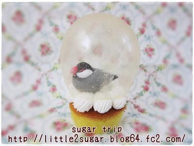 スノードームのカップケーキ1-2