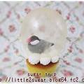 写真: スノードームのカップケーキ1-2