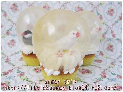 スノードームのカップケーキ1-4