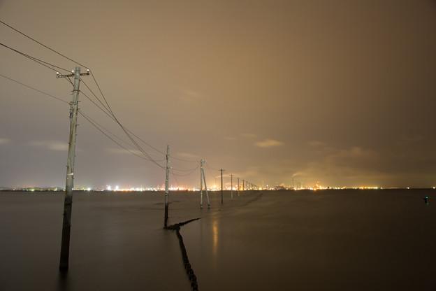江川海岸電柱