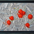 Photos: Cherries on Aluminum Foil