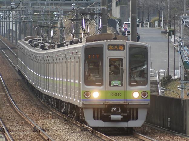 都営新宿線10-280F@C#10-280 2018-2-11/1
