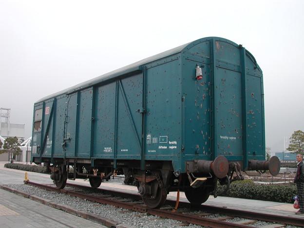写真: #2803 オノ・ヨーコ氏「貨物車」 2002-1-26