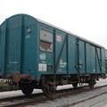 写真: オノ・ヨーコ氏「貨物車」 2002-1-26/2
