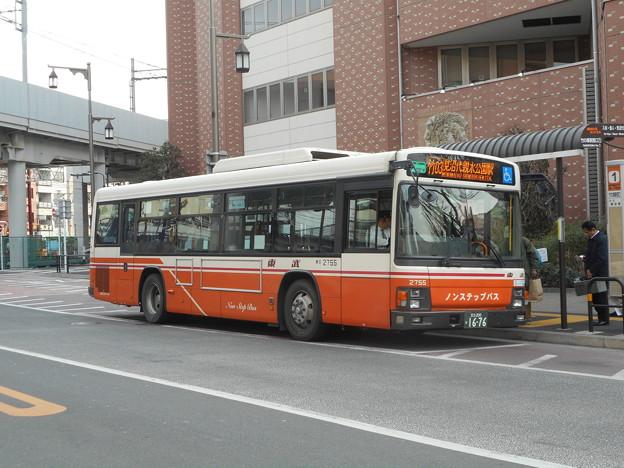 写真: 東武バスC#2755 2018-1-31