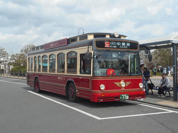 横浜市営バス6-3499「あかいくつ」 2018-3-18