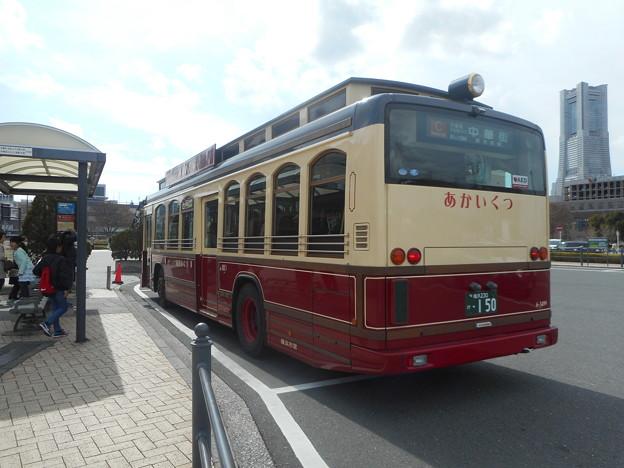 横浜市営バス6-3499「でかいくつ」 2018-3-18