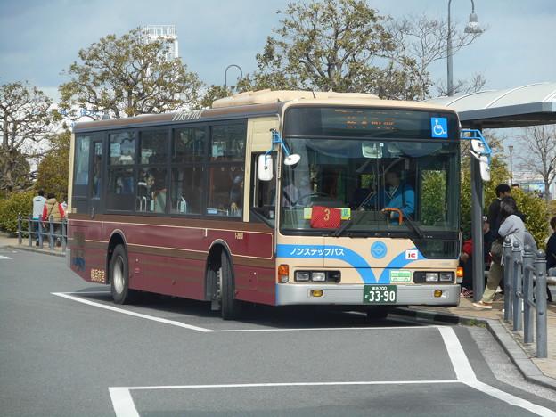 横浜市営バス1-2690「あかいくつ」 2018-3-18/1
