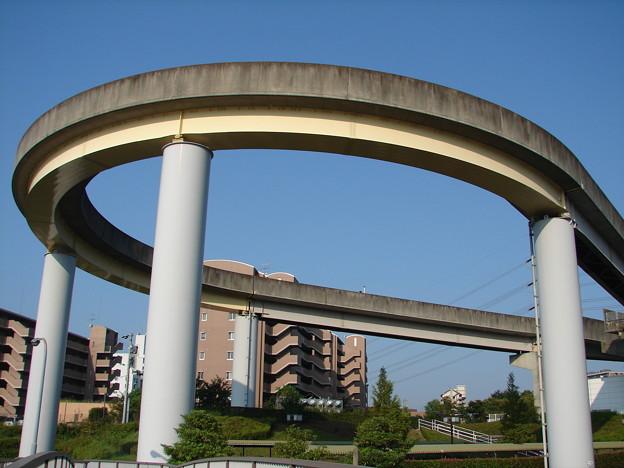 桃花台東駅のループ 2006-9-5/2