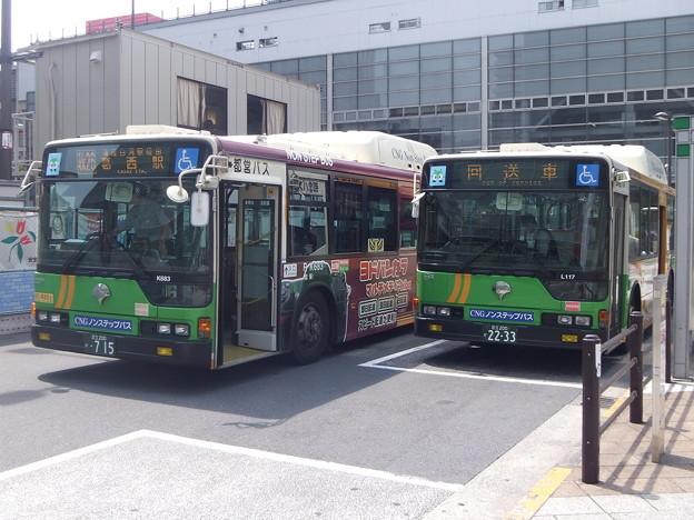 #2930 2台のガスカーRーK683・R-L117 2012-5-24