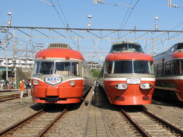 #3000 小田急電鉄3000形SE・3100形NSE 2007-10-21