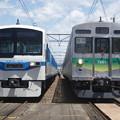 写真: #3105 秩父鉄道クハ6201・デハ7201 2018-5-19