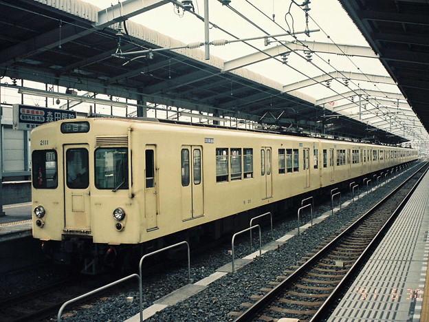 #3247 東武鉄道モハ2111x8 1991-6-30