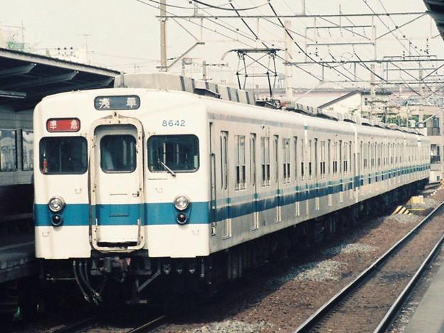 #3250 東武鉄道8146F+8642F 1991-6-30