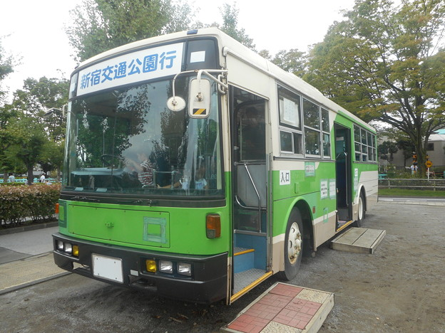 #3468 都営バスL-Z281保存車 2018-9-23