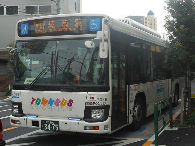#3475 京成タウンバスT066 2018-10-11