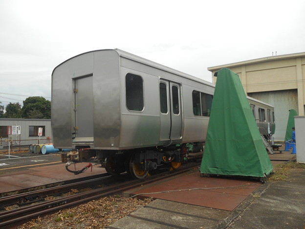 #3488 JR総研 無番号試験車体(E231系タイプ) 2018-10-13