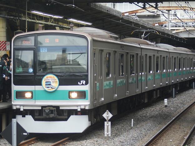 #3489 209系1000番台 東マト82F 2018-10-13