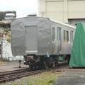 Photos: #3494 JR総研 無番号試験車体 2018-10-13