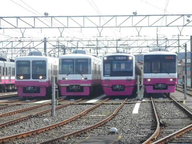 #3513 新京成電鉄4並び 2018-10-20