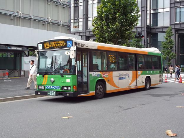 #3522 都営バス R-L693 2014-10-1