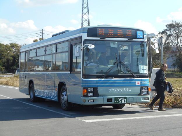 #3583 関鉄バス9396YT 2018-11-3
