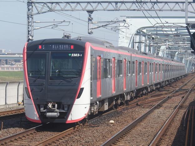 #3709 浅草線5503F 2018-10-6