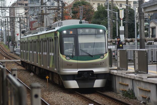#3745 東京急行電鉄7107F 2018-11-24