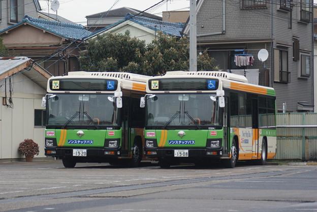 #3755 都営バスZ-D324・D326 2018-12-26