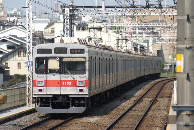 #3812 東京急行電鉄2002F@クハ2102 2015-5-8