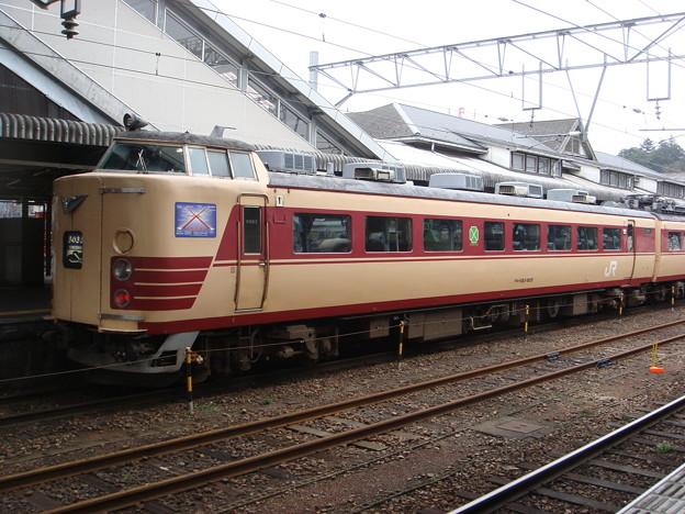#3841 JR西日本クロハ183-805 2008-3-23