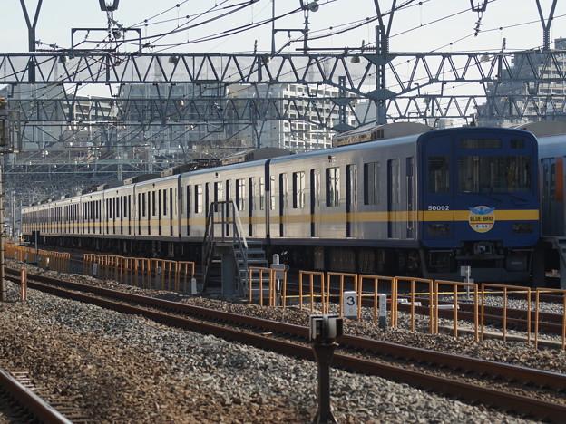 #3856 東武鉄道51092F「ブルーバード号」 2018-1-20