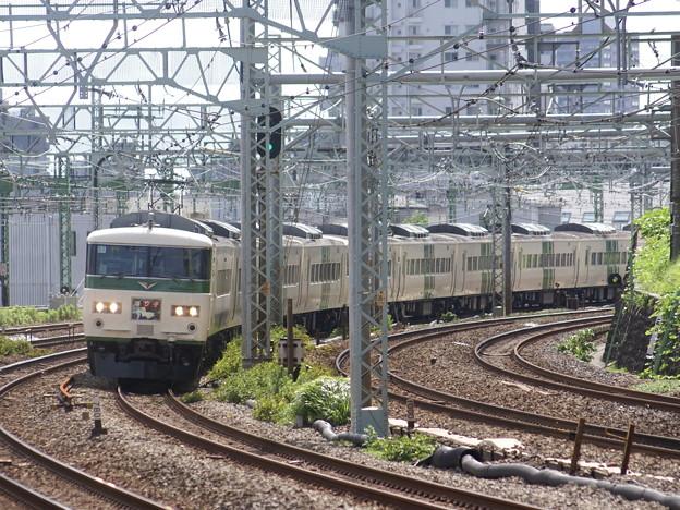 #3979 185系「踊り子」宮オオC1F+A8F 2012-7-15