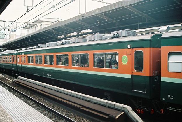#4379 サロ165-106(静シス) 1996-3-9