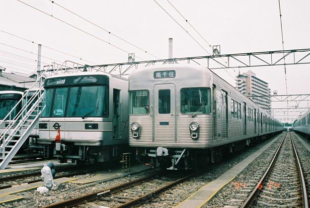 #5257 日比谷線03-122F・3067F 1994-6-24