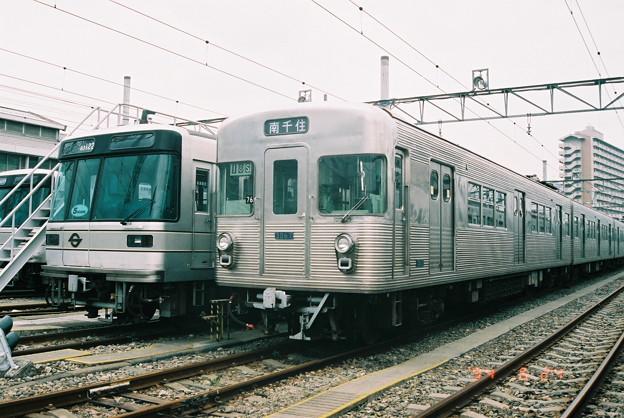 #5261 日比谷線03-122F・3067F 1994-6-24