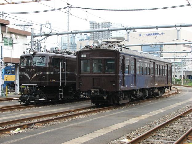 #5334 EF58 61・クモハ12052 2008-8-23