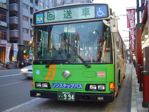 #5400 都営バスP-L778 2007-9-3