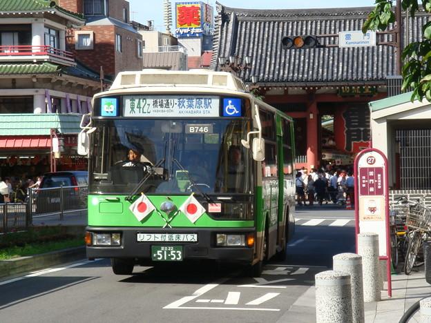 Photos: #5464 都営バスK-B746 2007-9-17