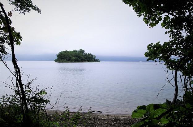 阿寒湖(小島)