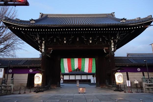 京都 早朝の西本願寺