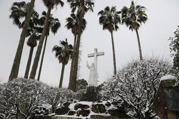 Photos: 雪のキリシタン館