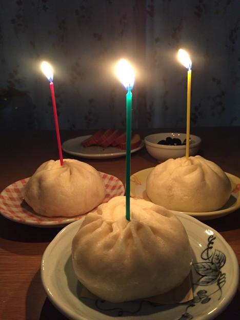birthday 豚まん