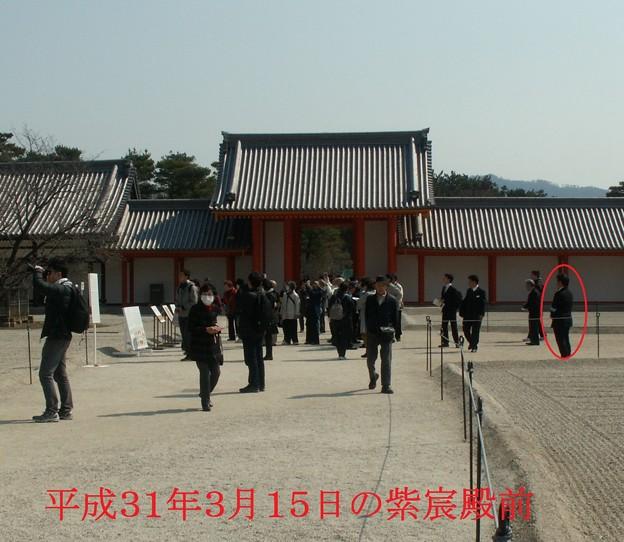 Photos: 平成31年の紫宸殿前