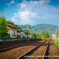 Photos: のどかな駅の風景。