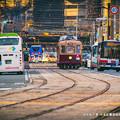 Photos: 旧市街夕景。