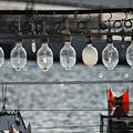 写真: イカ釣り船