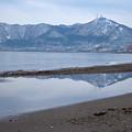 逆さ函館山