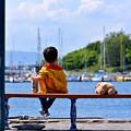Photos: 少年と海