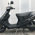 CE11A アドレスV100 黒 サイドスタンド (1)